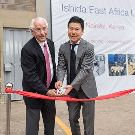 Ishida EA Office Opening Ceremony, Ribbon Cutting Takahide And Tony Caridis II