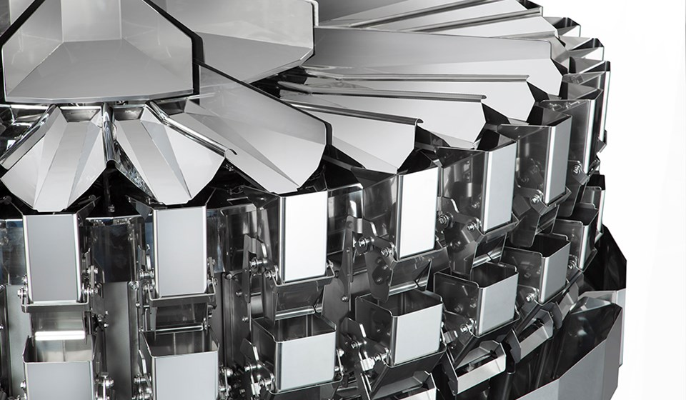 Close up image of Multihead Weigher (CCW RV 32H)