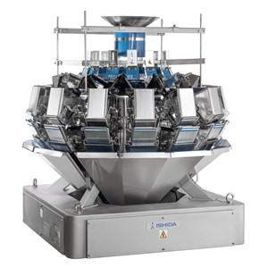 Gentle slope weigher for fragile products
